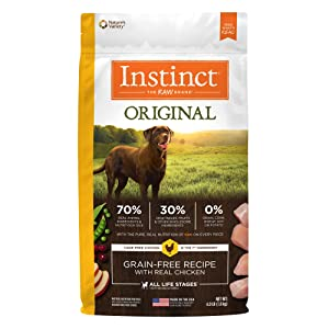 Instinct Original Grain Free Recipe with Real Chicken Natural Dry Dog Food by Nature's Variety