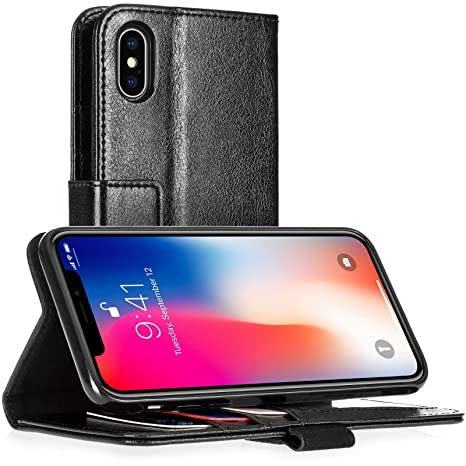 custodia vera pelle iphone x