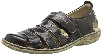Josef Seibel Women's Ida Flat, black, ...