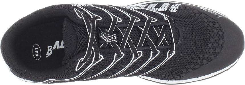 INOV8 F-Lite 195 Zapatilla de Fitness Unisex, Negro/Blanco, 36 ...