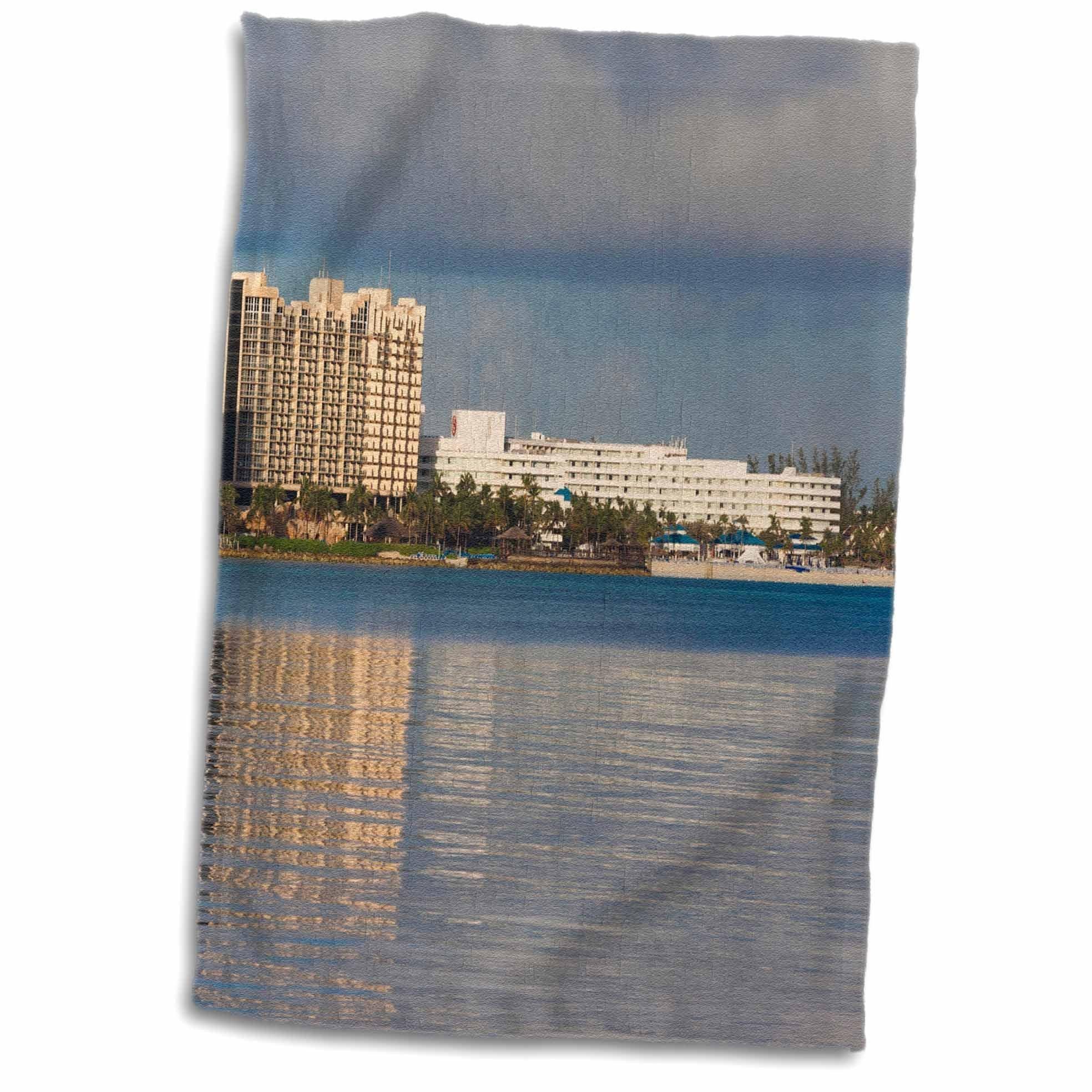 3D Rose Bahamas - New Providence - Nassau - Resort Hotels - Ca05 Wbi0439 - Walter Bibikow Towel, 15'' x 22''