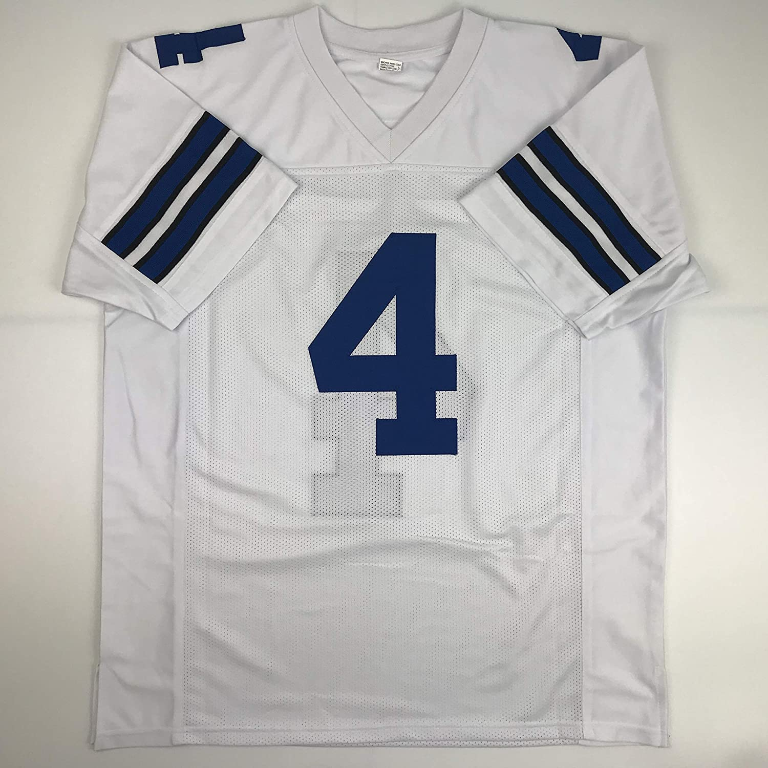 premium selection 30379 69e15 Unsigned Dak Prescott White Custom Stitched Football Jersey Size XL New No  Brands/Logos
