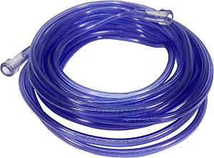 Westmed #0035 25' Purple Kink Resistant Oxygen Supply Tubing - Pack of 5