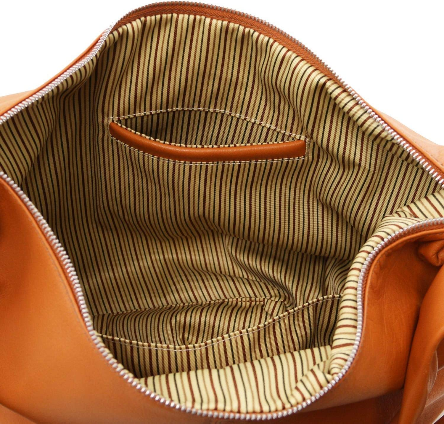 Tuscany Leather Yvette Sac Hobo en Cuir Souple Cannelle Cannelle