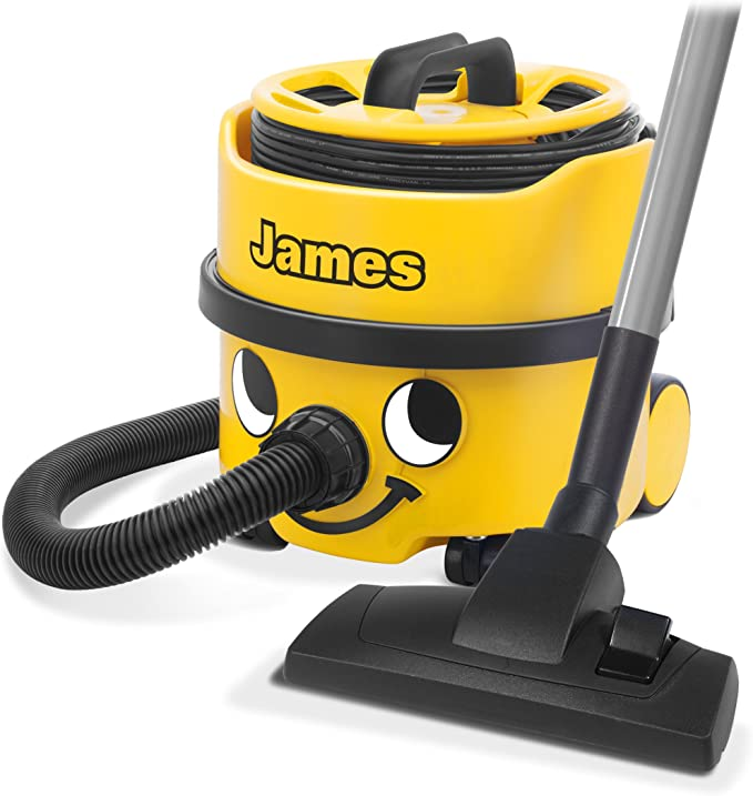 James Bagged Vacuum - James Bagged Vacuum Cleaner 8 Litre 620W Yellow 1 Year Warranty: Amazon.es: Electrónica