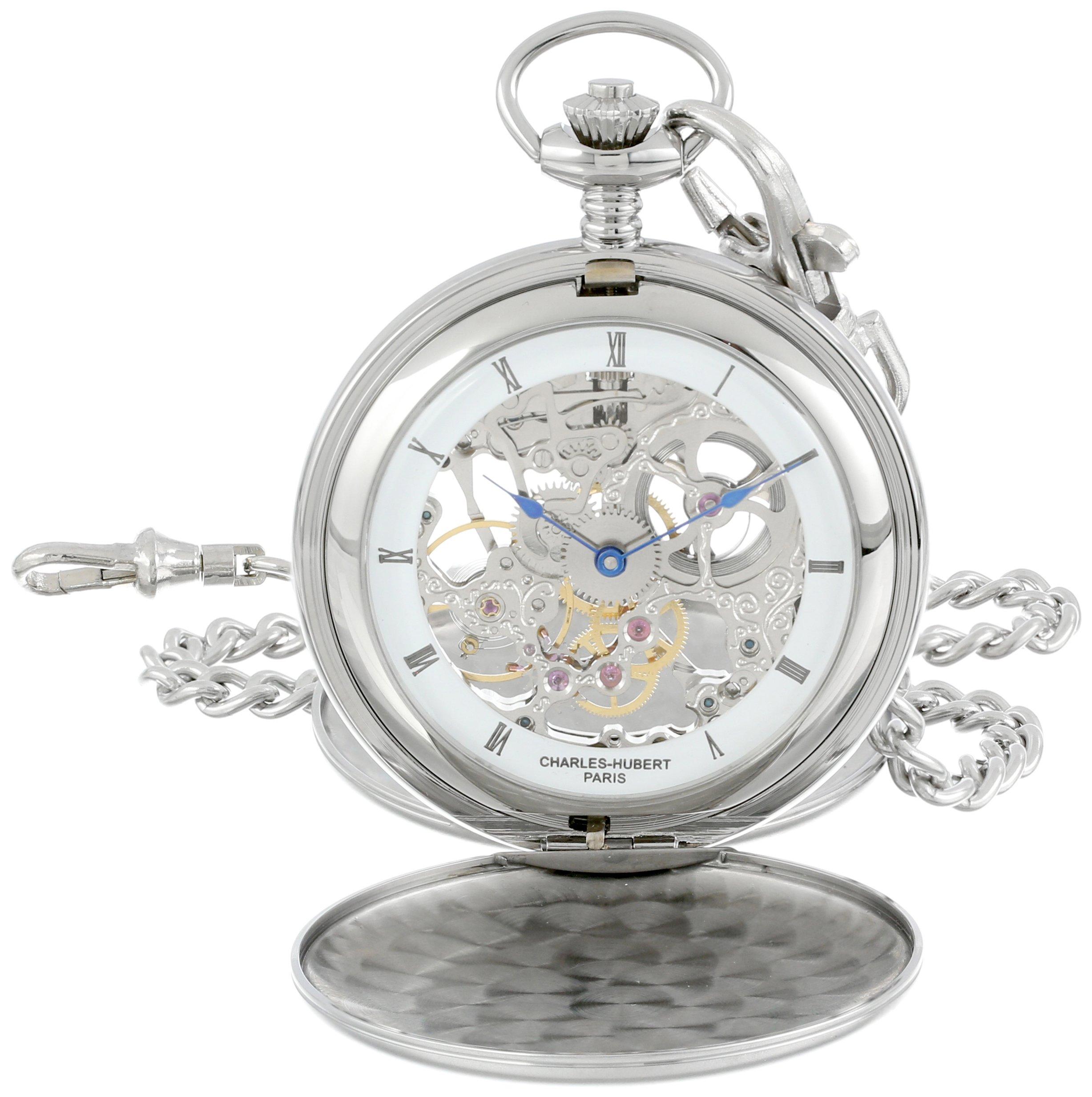 Charles-Hubert, Paris 3780-W Mechanical Pocket Watch