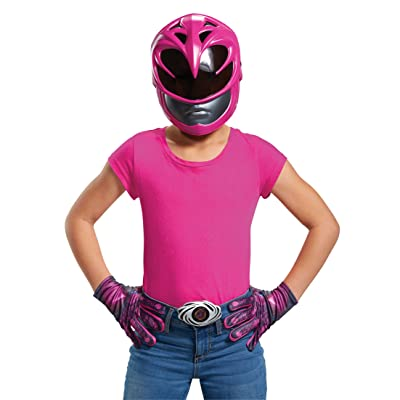 Pink Power Ranger Movie Child Accessory Kit: Toys & Games