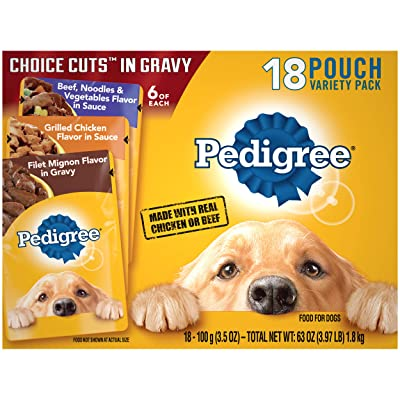 Pedigree Choice Cuts in Gravy Adult Wet Dog Food Variety Packs