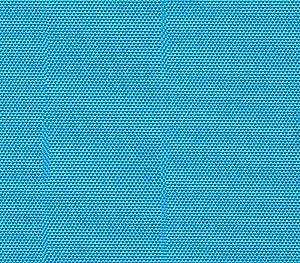 Waterproof Fabric Canvas Solid AQUA Indoor Outdoor / 60