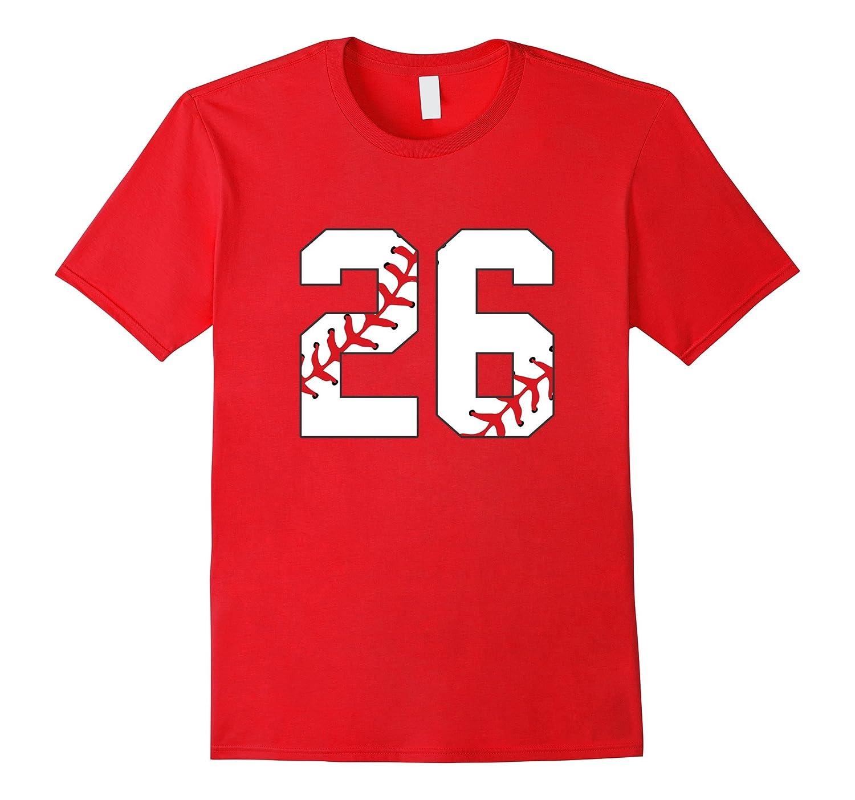 26 Baseball Lover Twenty-Six Player Baseball Funny T-shirts-PL