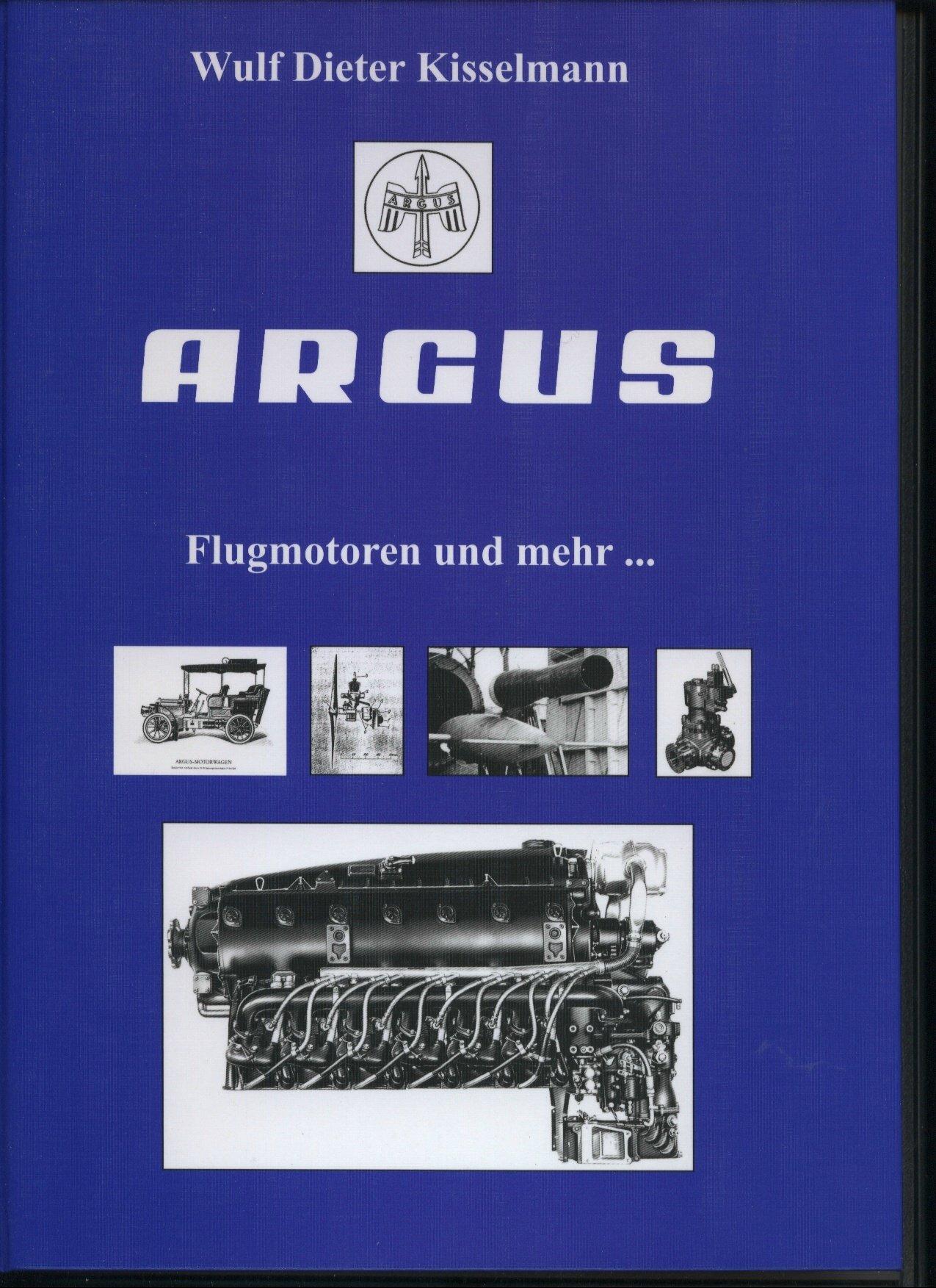 ARGUS: Flugmotoren und mehr ... (Edition Schiff & Flugzeug-Verlagsbuchhandlung)