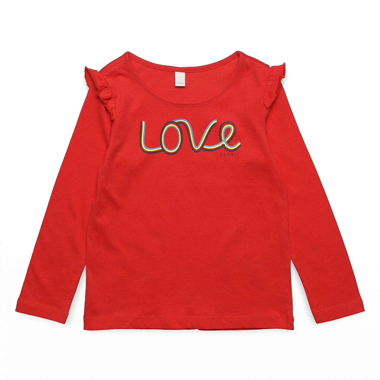 ESPRIT KIDS M/ädchen Long Sleeve Tee-Shirt Langarmshirt