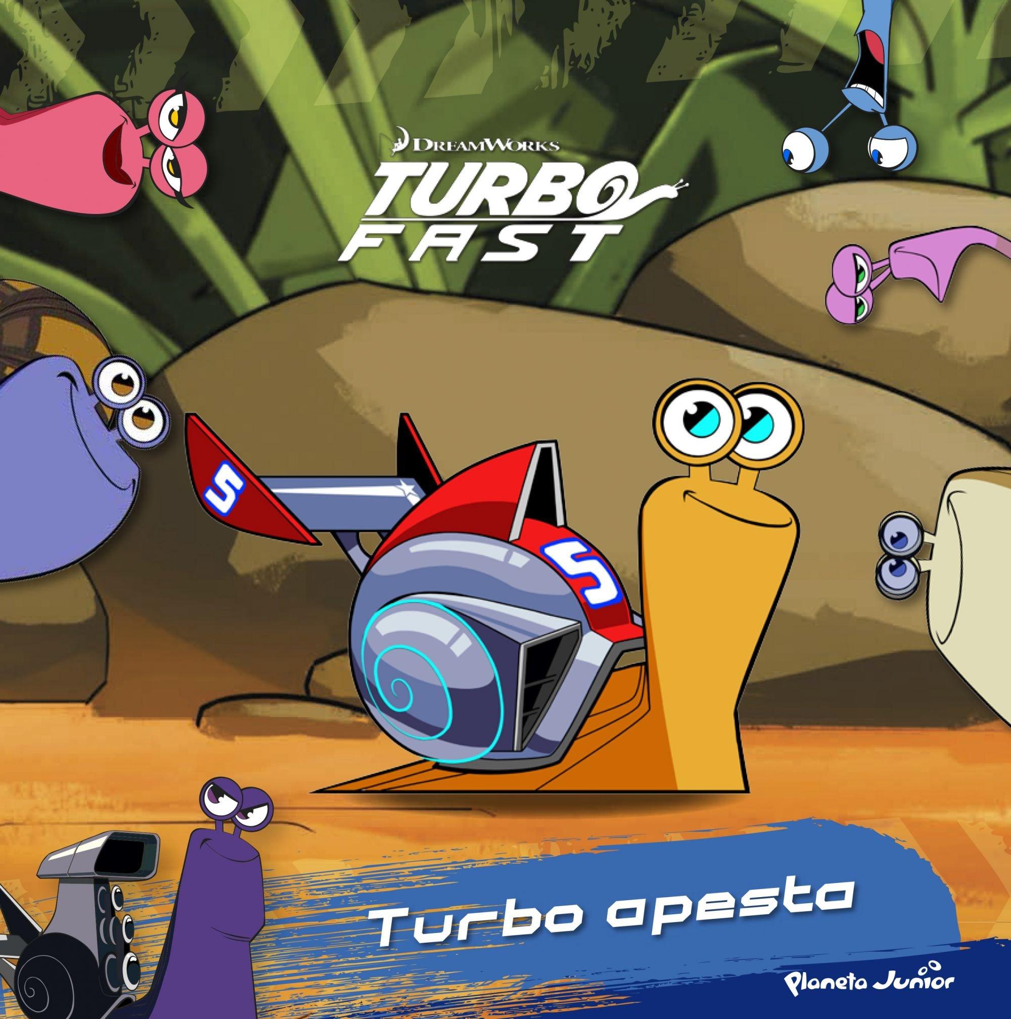 Turbo Fast. Turbo apesta (Spanish) Hardcover – January 1, 2016