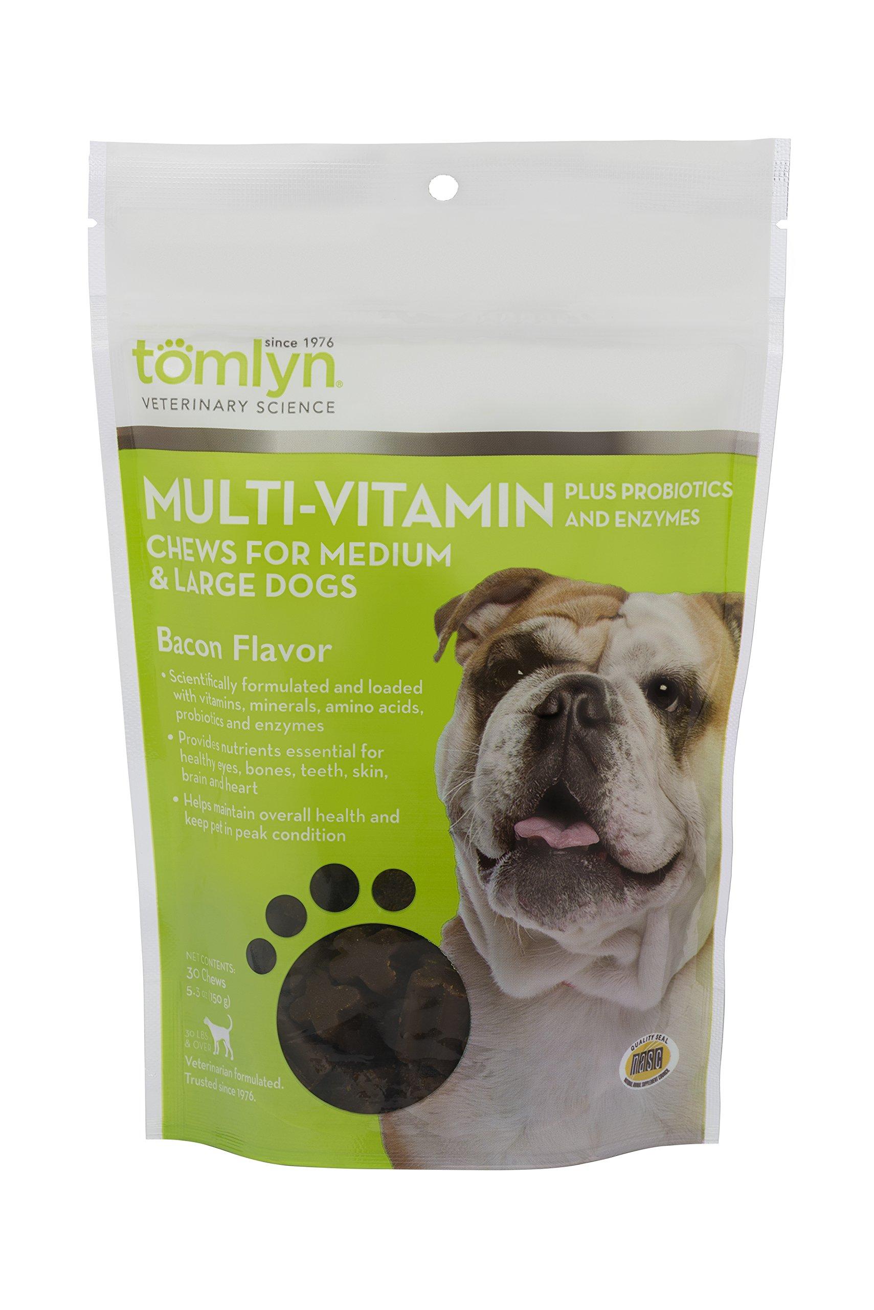 Tom Lyn Tomlyn Multi-Vitamin Chews for Medium and Large Dogs