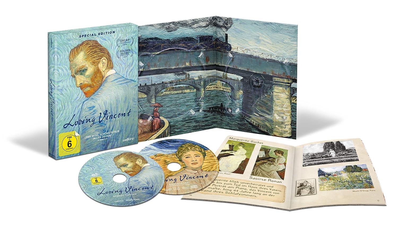 LOVING VINCENT – Limitierte Special Edition Digipak inkl. Soundtrack ...