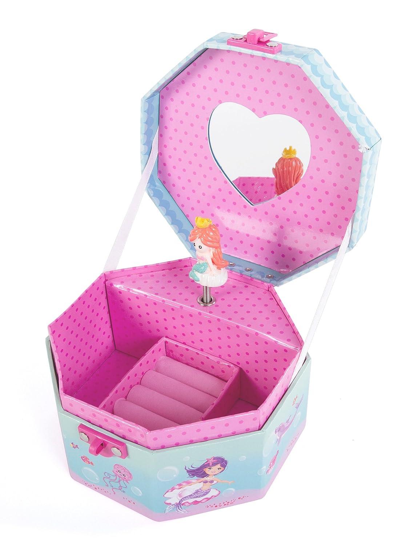 優先配送 Hot Focus B071R7G1J6 Musical Girls Jewellery - Box - Mermaid Music Mermaid Jewel Storage Box - Plays Beethoven's Fur Elise B071R7G1J6, ギフトショップナコレ:860c23f9 --- mrplusfm.net