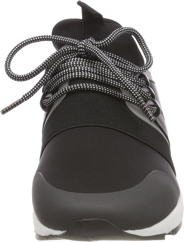 , Black Black 001 39 EU Women/'s Low-Top Sneakers Hugo Hybrid Running-n