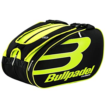 Bullpadel 17004 Padel Racket Bag - Yellow  Amazon.co.uk  Sports ... 835f91cbbbda7