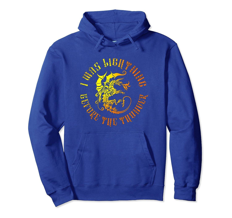 the dragon Imagine pullover hoodie for men women-mt