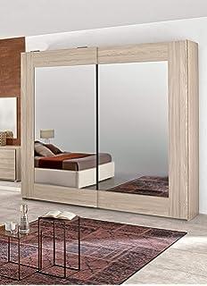 Dafnedesign.Com - Dormitorio completo - Efecto roble blanco (cama ...