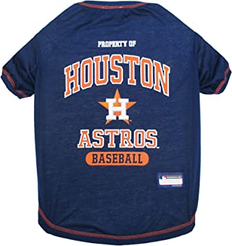 Astros Shirts >> Mlb Pet Apparel Licensed Baseball Jerseys T Shirts Dugout Jackets Camo Jerseys Hoodie Tee S Pink Jerseys For Dogs Cats Available In All 30