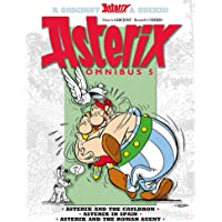 Asterix Omnibus 5: Asterix and The Cauldron, Asterix in Spain, Asterix and The Roman Agent