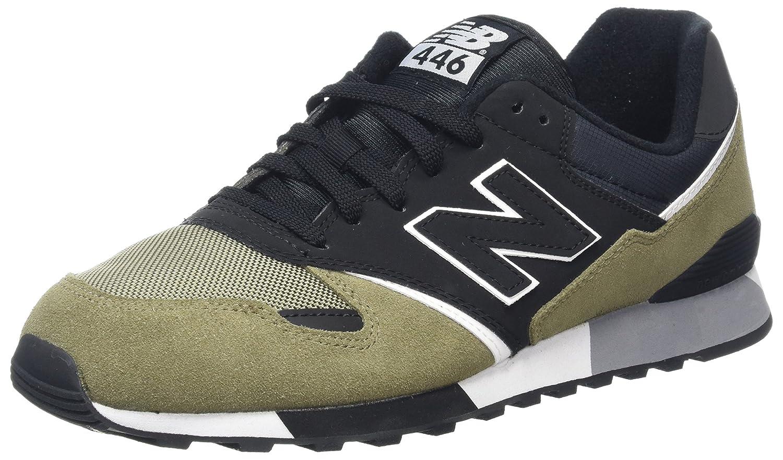 New Balance Unisex-Erwachsene U446 Sneaker,  415 EU|Gr眉n (Green/Black/U446gkw)