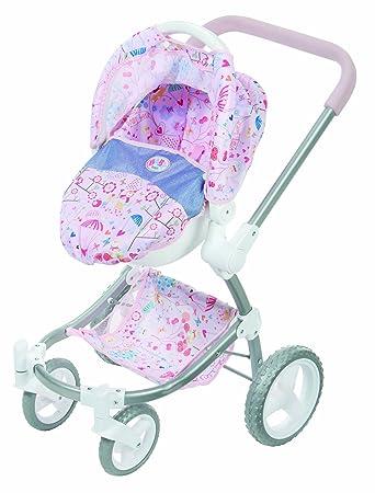 Amazon.com: Baby Born 2 en 1 carriola de moda y asiento ...