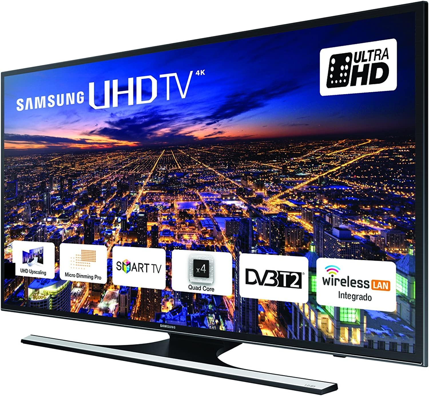 TV LED UHD 4K SAMSUNG SMART TV 40 UE40JU6410 ULTRA HD / 1000 HZ / A+ / WI-FI INTEGRADO: Amazon.es: Electrónica