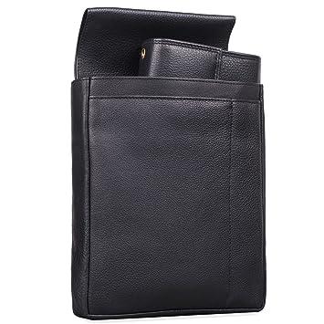 2dc3f72d233a9 STILORD  Dylan  Kellnerbörse Leder Set mit Halterung Profi Portemonnaie mit  Kellnertasche für Gürtel und