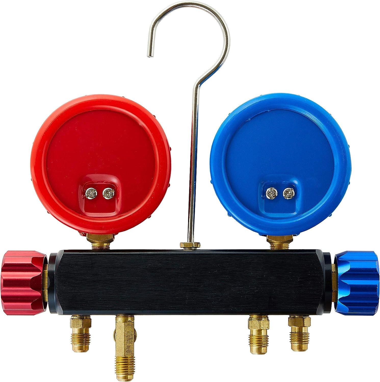 Lichamp R22 R134A R410 Single Gauge