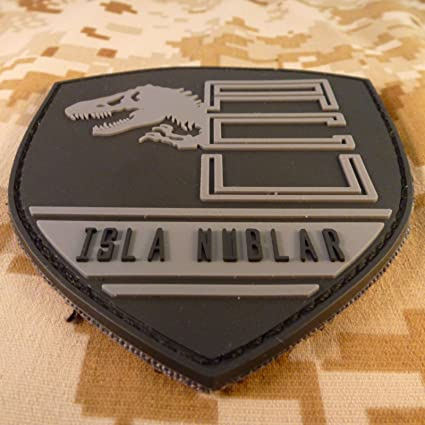 923865bf4d1e Jurassic World Isla Nublar Shield Collector PVC 3D Gomme Attache-boucle  Écusson Patch  Amazon.fr  Cuisine   Maison