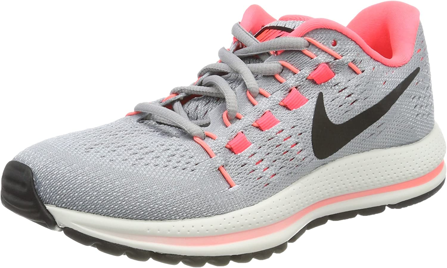 Nike W Air Zoom Vomero 12 (N), Zapatillas de Trail Running para Mujer, Gris (Wolf Grey/Black/Pure Platinum/Hot Punch 002), 43 EU: Amazon.es: Zapatos y complementos