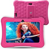 [Upgraded] Dragon Touch Y88X Plus 7 inch Kids Tablet, Kidoz Pre-Installed with Disney Content (More Than $80 Value) (Android 7.1 OS) Pink