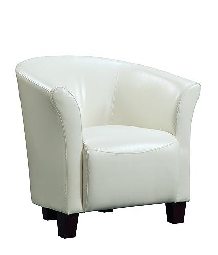 Attirant Abbey Avenue A CJ 893AC CJ Accent Tub Chair, White