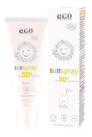 Eco Cosmetics Kids Kinder Sonnenspray Lsf 50 Amazonde Beauty