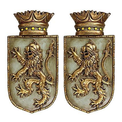 Design a medieval shield online