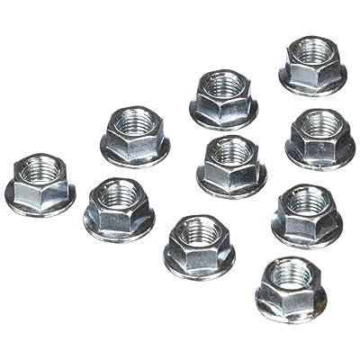 ARP 200-8683 M10 x 1.25 Locking Flange Nut - 10 Piece: Automotive
