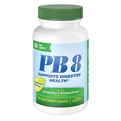 Nutrition Now PB 8 Pro-Biotic Vegetarian Supplement, 120 Count