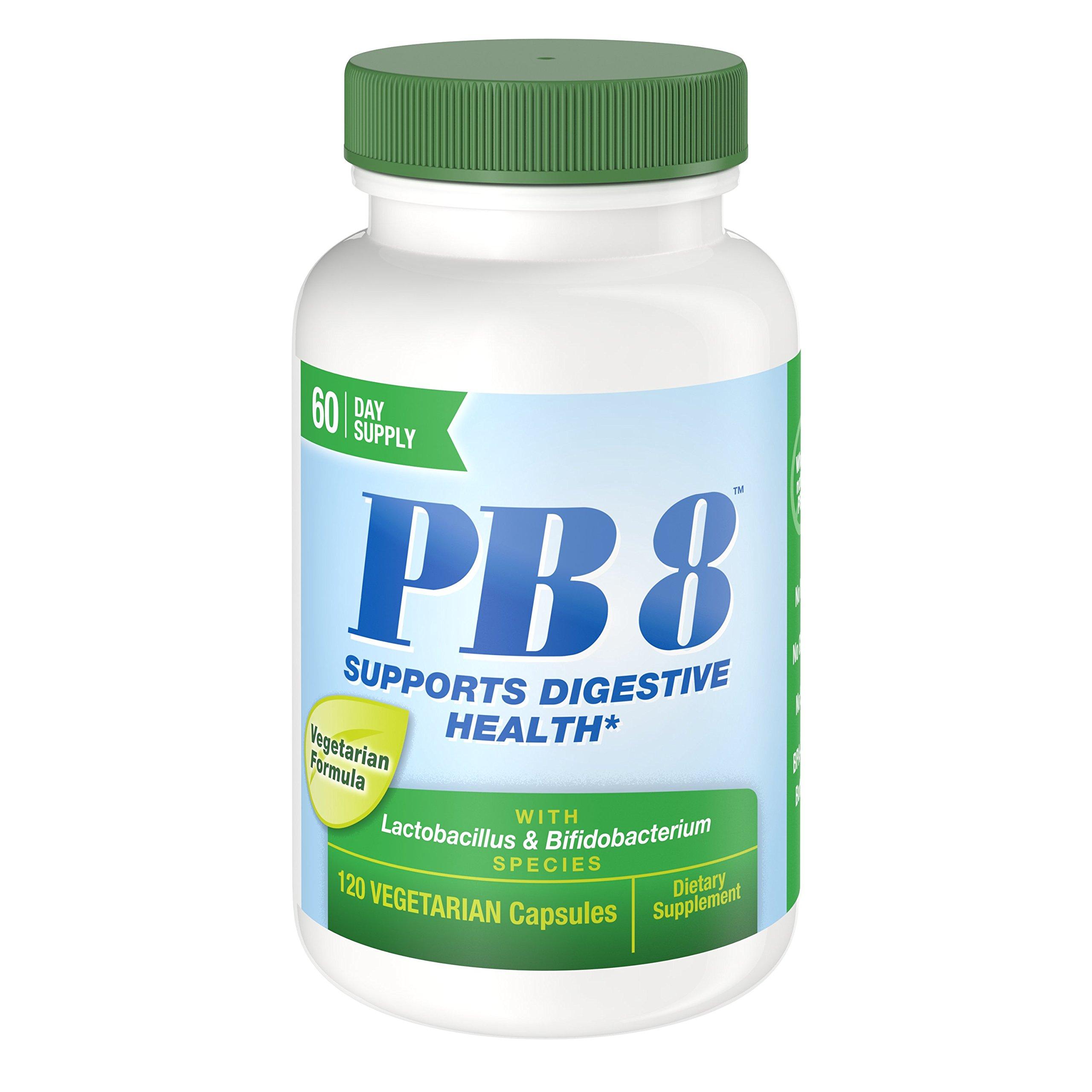 Nutrition Now PB 8 Pro-Biotic Vegetarian Supplement, 120 Count