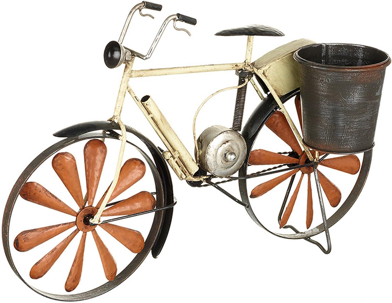 Heaven Sends Macetero con soporte en forma de bicicleta (50 x 20 x ...
