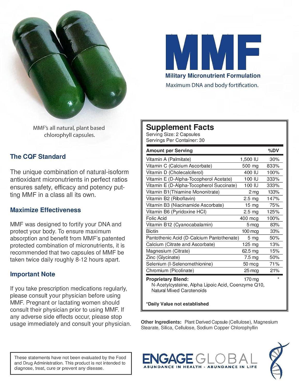 Amazon Mmf Military Micronutrient Formulation Health