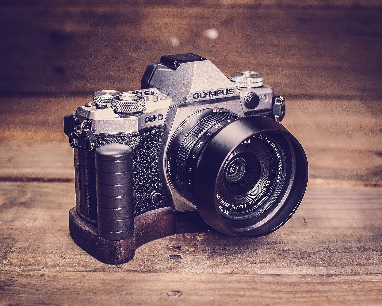 Handgefertigter Kameragriff Für Olympus Om D E M5 Mark Elektronik