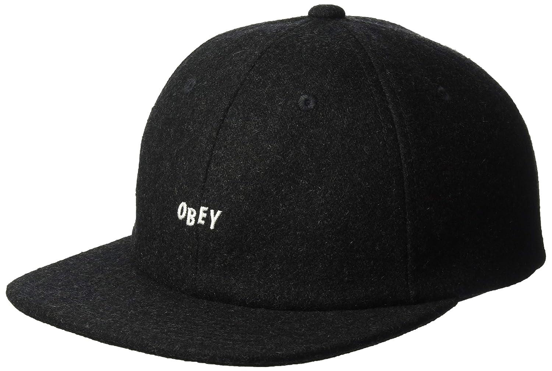 Obey Hombres Kilson 6 Panel Hat Gorra de béisbol - negro ...