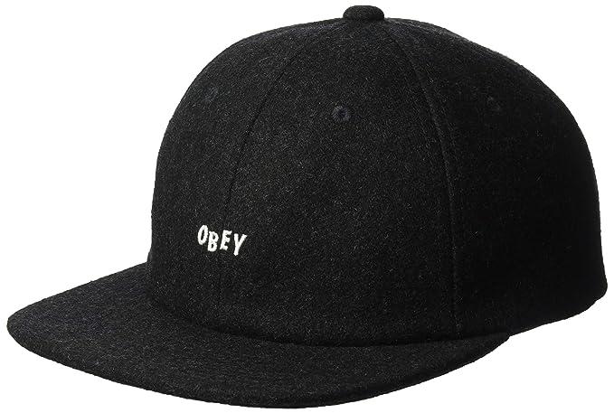 Obey Hombres Kilson 6 Panel Hat Gorra de béisbol - negro -   Amazon.es  Ropa  y accesorios 6a044de90fd