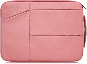 "11.6 Inch Waterproof Laptop Sleeve Case Compatible Acer Chromebook R 11/2018 Newest Acer R11 11.6"",HP Stream 11,Dell Inspiron 11,Samsung Chromebook 3,Toshiba Asus Chromebook Notebook Tablet Bag,Pink"