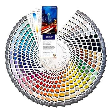 Cleverprinting Farbwelten Farbindex Farbfächer: Amazon.de: Computer ...
