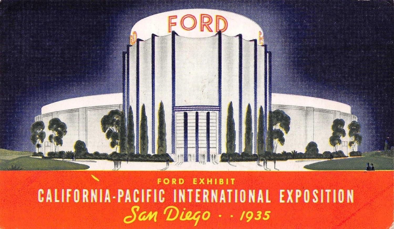 Ford Dealership San Diego >> Amazon Com Pc Ford Exhibit California Pacific Intl