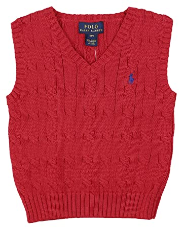 d00857f3180e Amazon.com  Polo Ralph Lauren Infant Boys  (3M-24M) Knit Sweater ...