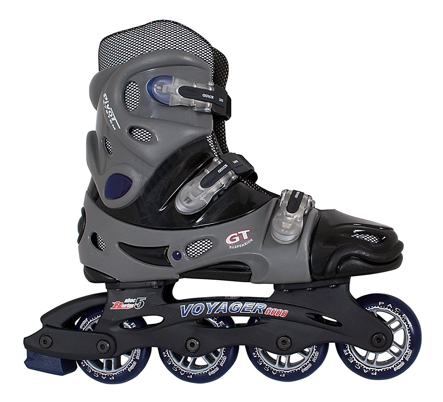 Pacer Voyager Inline Skates - Mens 11 / Ladies 12 by Skate Out Loud